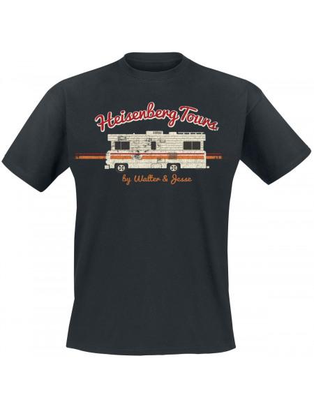 Breaking Bad Heisenberg Tours T-shirt noir