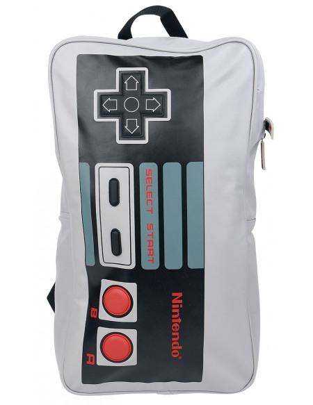 Nintendo NES-Controller Sac à Dos gris
