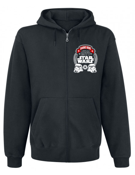Star Wars Stormtrooper Sweat Zippé à Capuche noir