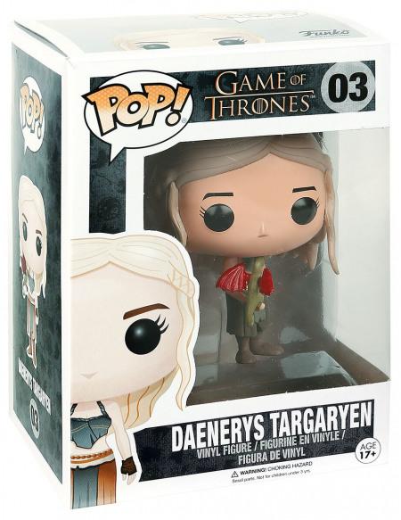 Game Of Thrones Daenerys Targaryen - Funko Pop! n°03 Figurine de collection Standard