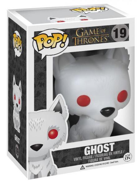 Game Of Thrones Figurine En Vinyle Ghost 19 Figurine de collection Standard