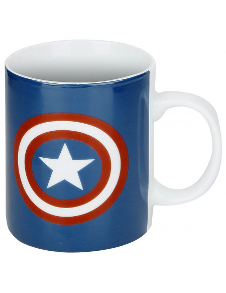 Captain America Logo Bouclier Mug Standard