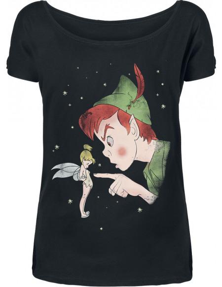 Peter Pan Peter Pan - Hey You T-shirt Femme noir