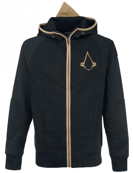 Assassin's Creed Logo Sweat Zippé à Capuche noir/or