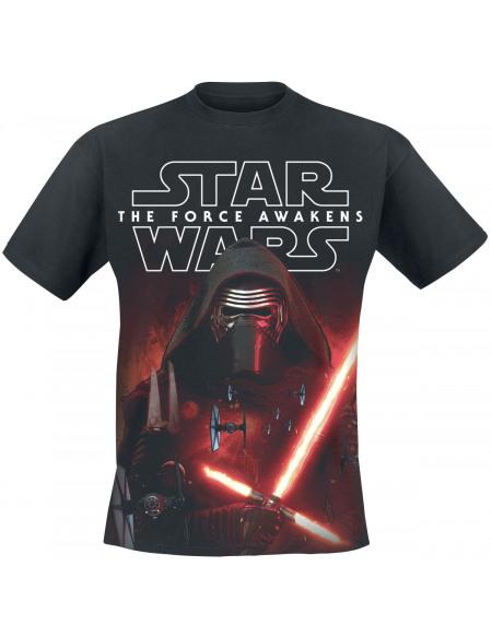 Star Wars Episode 7 - Das Erwachen der Macht - Force Of Kylo Ren T-shirt noir