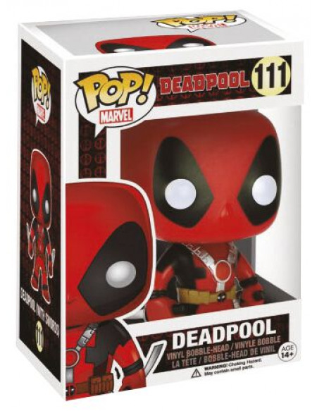Deadpool Figurine Bobblehead Deadpool : Deux Epées 111 Figurine de collection Standard