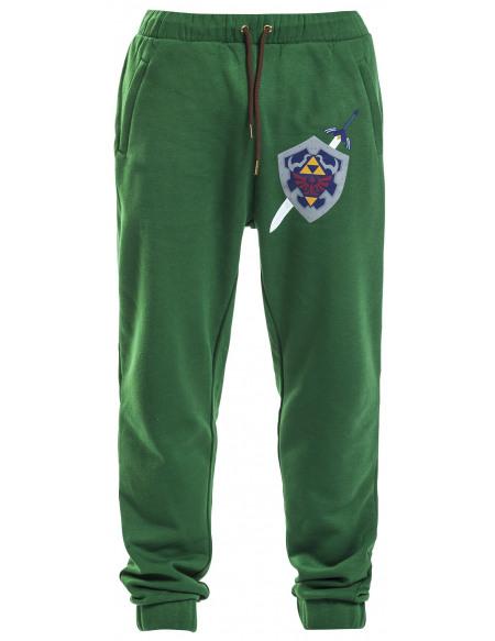 The Legend Of Zelda Hyrule Pantalon de Jogging vert