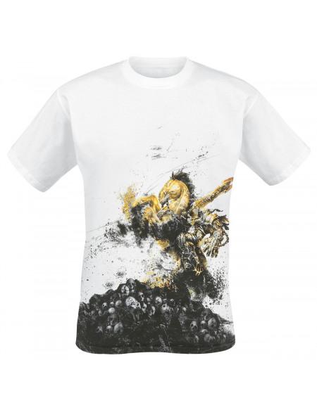 Darksiders Darksiders 2 - The Horseman T-shirt blanc