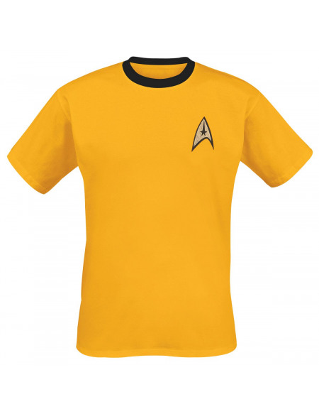 Star Trek Yellow Uniform T-shirt jaune
