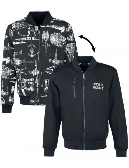 Star Wars Reversible Jacket Veste gris/noir