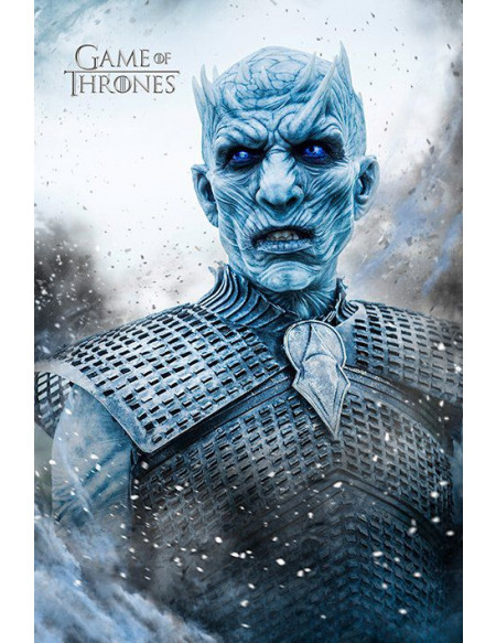Game Of Thrones Roi De La Nuit Poster standard