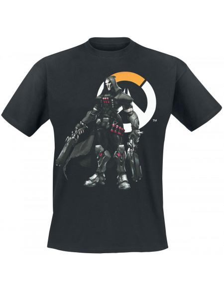 Overwatch Faucheur T-shirt noir