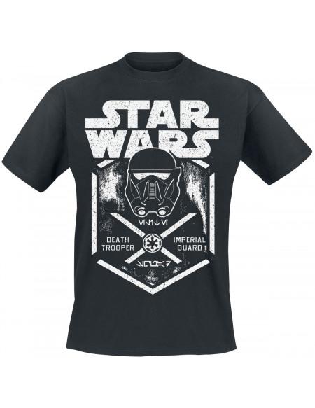Star Wars Rogue One - Garde Impérial Death Trooper T-shirt noir