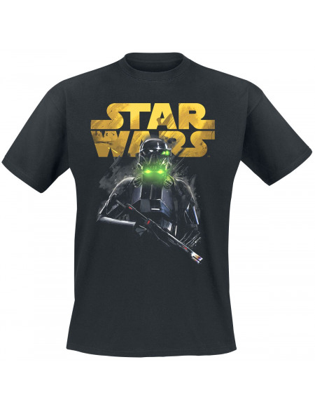Star Wars Rogue One - Death Trooper T-shirt noir