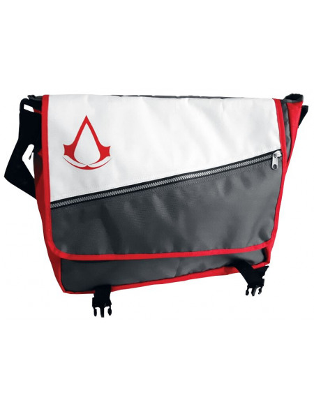 Assassin's Creed Logo Assassin's Creed Besace rouge/gris/blanc