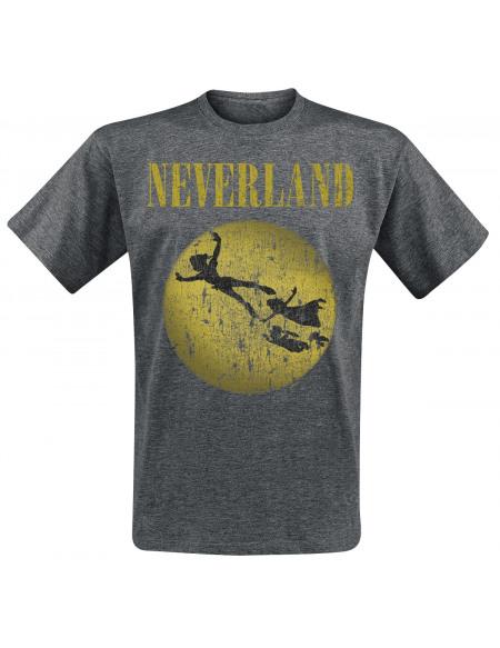 Peter Pan Pays Imaginaire T-shirt gris chiné