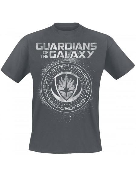 Les Gardiens De La Galaxie 2 - Sceau T-shirt gris foncé