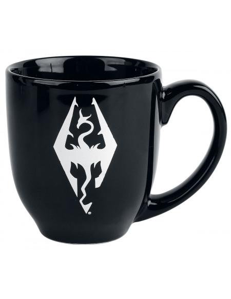 The Elder Scrolls V - Skyrim - Logo Mug noir