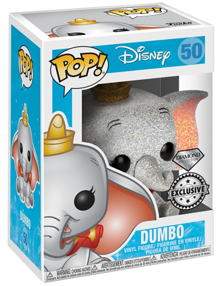 Dumbo Dumbo (Édition Diamond) - Funko Pop! n°50 Figurine de collection Standard