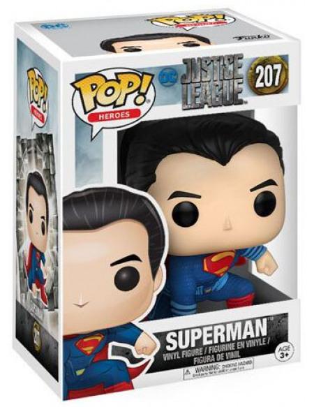 Justice League Superman (Landing Pose) Vinyl Figure 207 Figurine de collection Standard