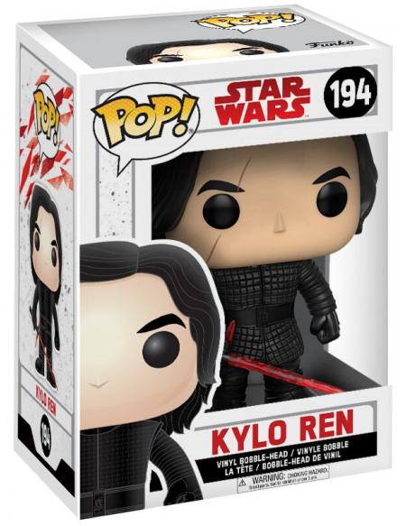 Star Wars Episode 8 - The Last Jedi - Kylo Ren Vinyl Bobble-Head 194 Figurine de collection Standard