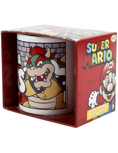 Super Mario Like A Boss Mug multicolore