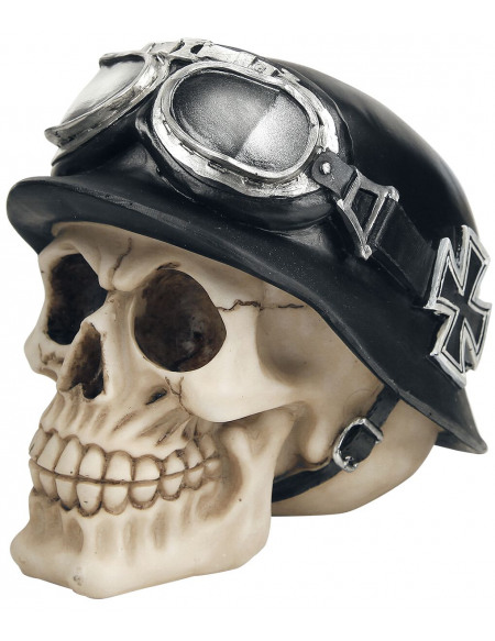 Nemesis Now Iron Cross Skull Crâne décoratif Standard