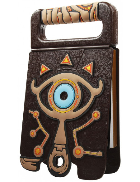 The Legend Of Zelda Breath Of The Wild - Sheikah - Carnet De Croquis Bloc dessin multicolore