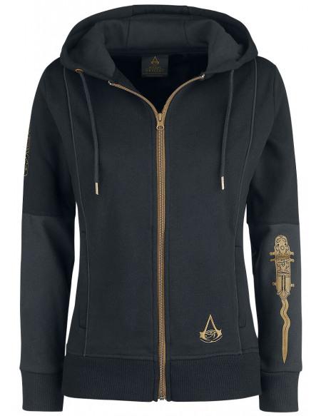 Assassin's Creed Origins - Cosplay Veste à Capuche Femme noir