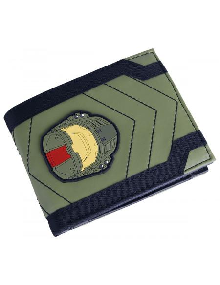 Halo Spartan John-117 Portefeuille vert/noir