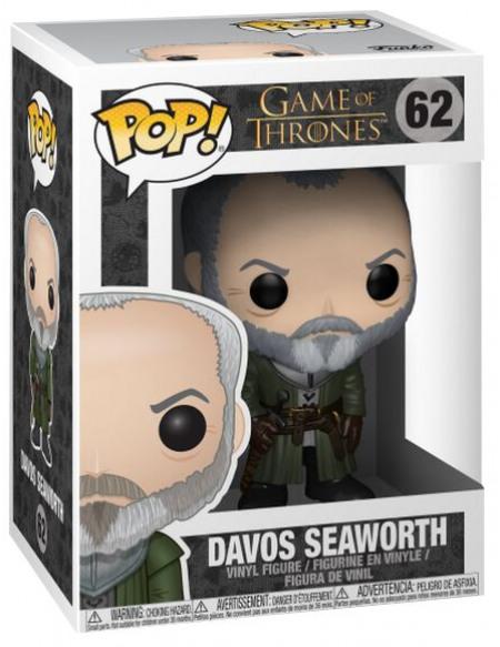 Game Of Thrones Figurine en vinyle Davos Seaworth 62 Figurine de collection Standard