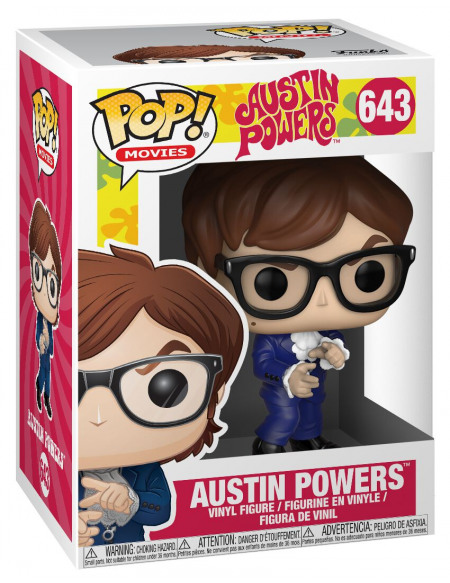 Austin Powers Figurine En Vinyle Austin Powers 643 Figurine de collection Standard
