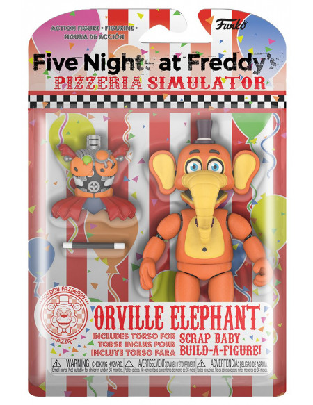 Five Nights At Freddy's Pizza Simulator - Figurine Orville Elephant Figurine de collection Standard
