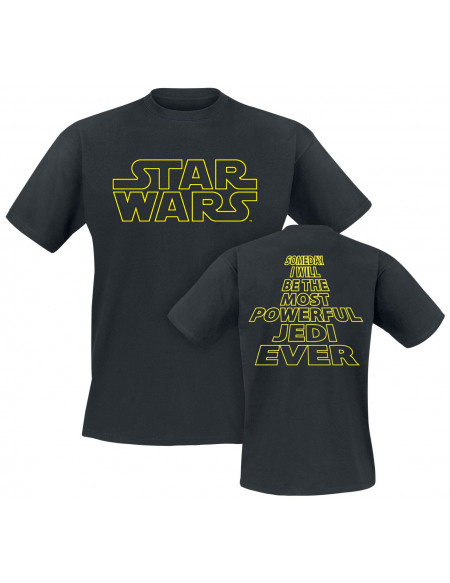 Star Wars Most Powerful Jedi T-shirt noir