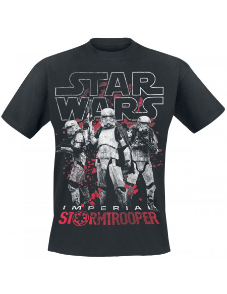 Star Wars Solo: A Star Wars Story - Imperial Stormtrooper T-shirt noir