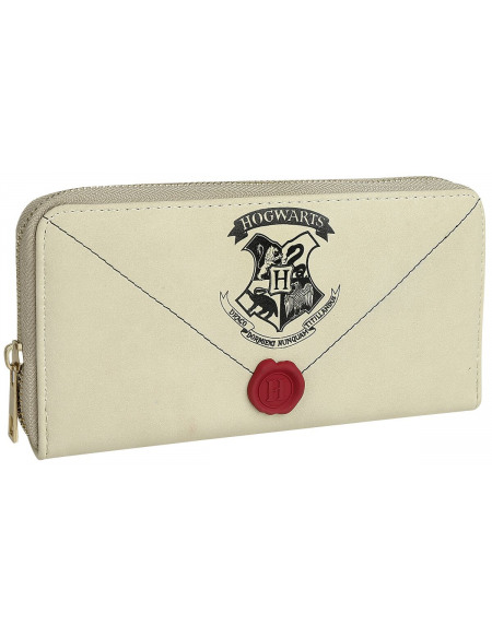 Harry Potter Letter From Hogwarts Portefeuille blanc
