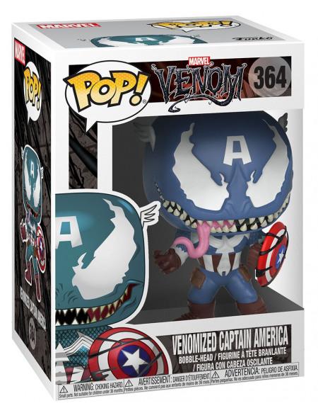Figurine - Funko Pop - Marvel - Venom - Venom/Captain America