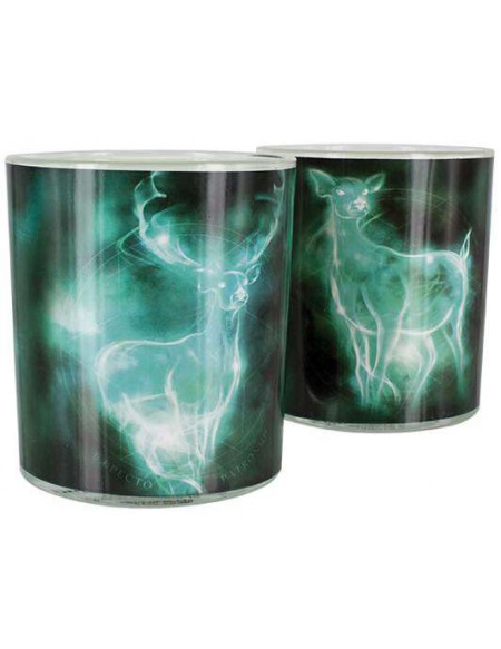 Harry Potter Patronus Set verres transparent