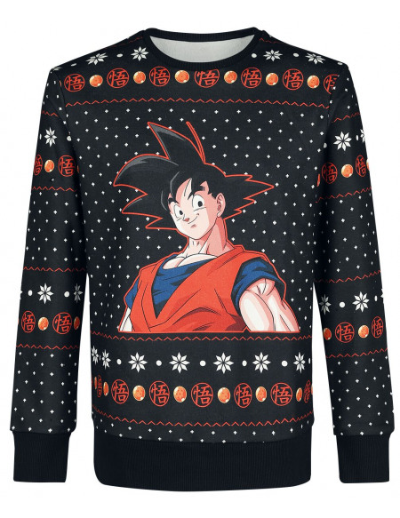 Dragon Ball Z Son Goku Sweat-shirt multicolore