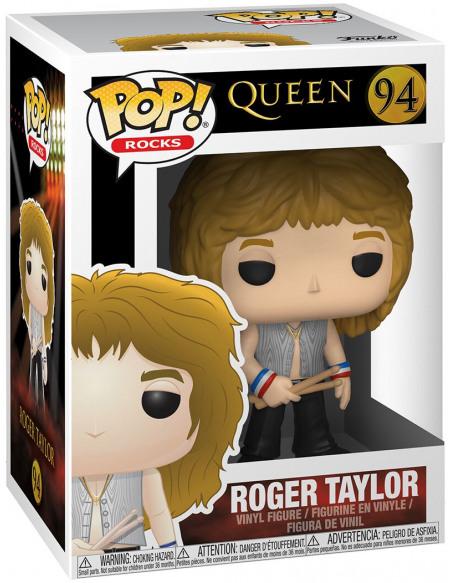 Queen Roger Taylor Rocks Vinyl Figure 94 Figurine de collection Standard
