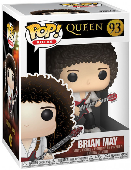 Queen Brian May Rocks Vinyl Figure 93 Figurine de collection Standard
