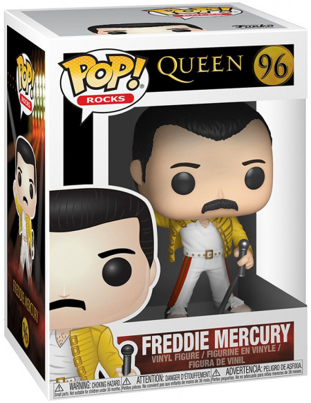 Queen Freddie Mercury (Wembley 1986) Rocks Vinyl Figure 96 Figurine de collection Standard