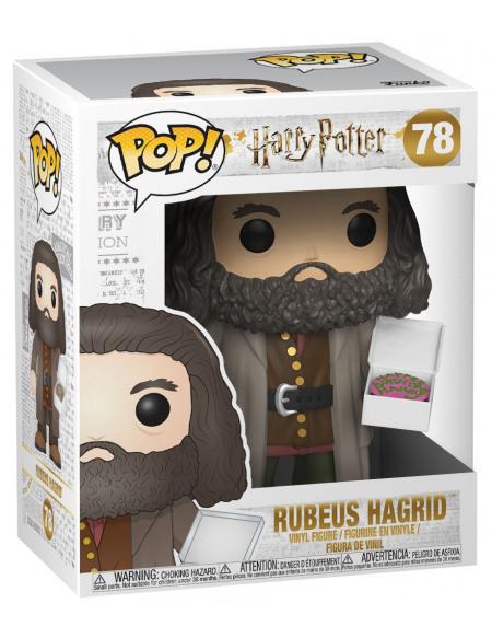 Figurine POP! #78 - Harry Potter - Hagrid avec un gâteau