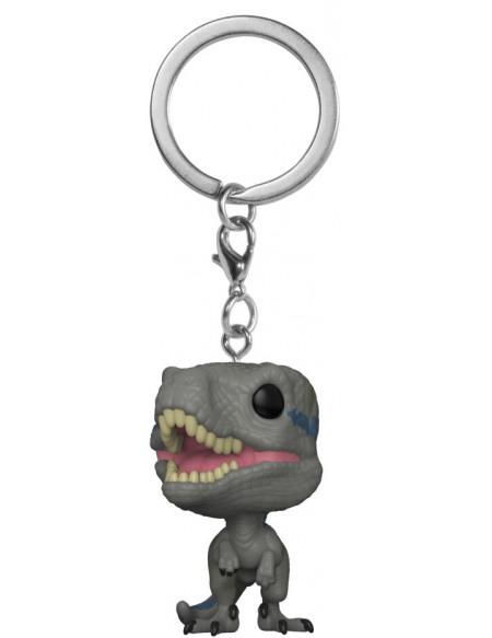 Jurassic Park Jurassic World - Porte-Clé Pocket Pop Blue Porte-clés Standard