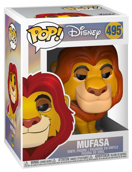 Figurine POP! #495 - Roi Lion - Mufasa