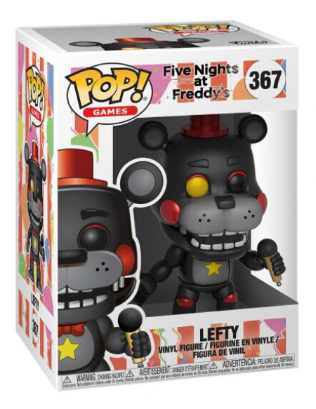 Five Nights At Freddy's Pizza Sim - Leftyg - Funko Pop! n° 367 Figurine de collection Standard