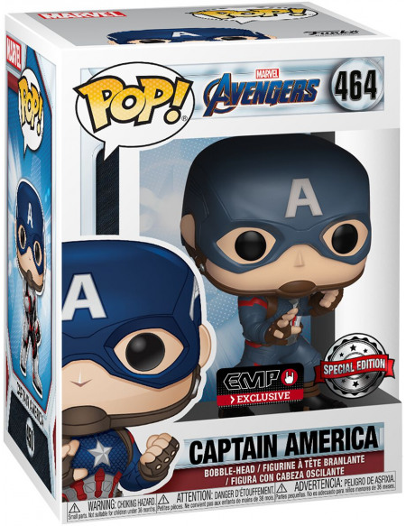 Avengers Endgame - Captain America - Funko Pop! n°464 Figurine de collection Standard