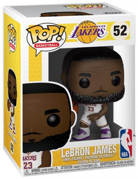 NBA Los Angeles Lakers - LeBron James - Funko Pop! n°52 Figurine de collection Standard