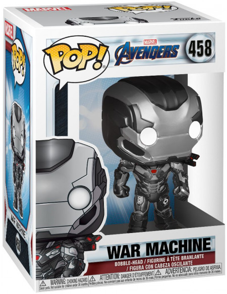 Figurine Funko Pop Avengers Endgame War Machine