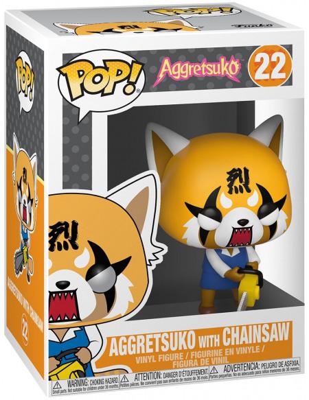 Figurine Funko Pop Aggretsuko Retsuko With Chainsaw